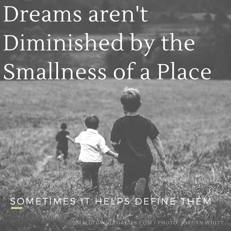 Dreams Aren't Diminished by the Smallness of a Space. Photo: Jordan Whitt