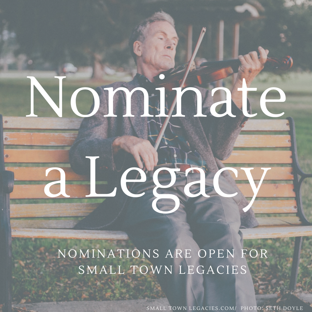Nominations for Small Town Legacies. Photo: Seth Doyle.