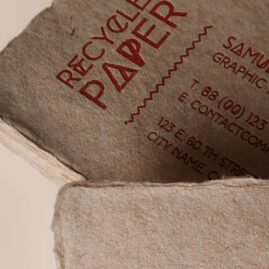 Paper Business Cards